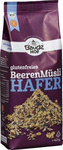 *Bio Hafer Müsli Beeren glutenfrei Bio (425g) Bauckhof