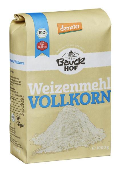 *Bio Weizenmehl Vollkorn Demeter (1000g) Bauckhof