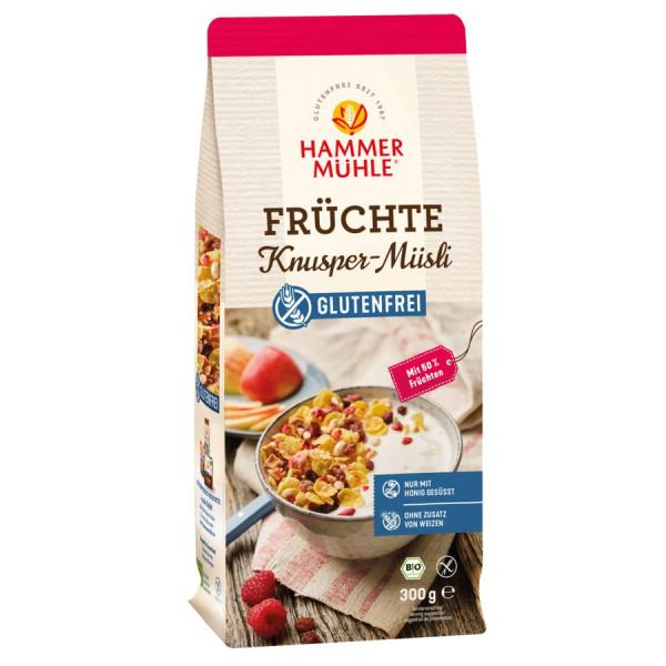 *Bio Bio Früchte Knusper-Müsli gf (300g) Hammermühle