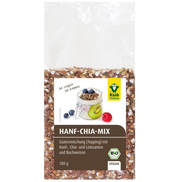 *Bio Bio Hanf-Chia-Mix (180g) Raab Vitalfood