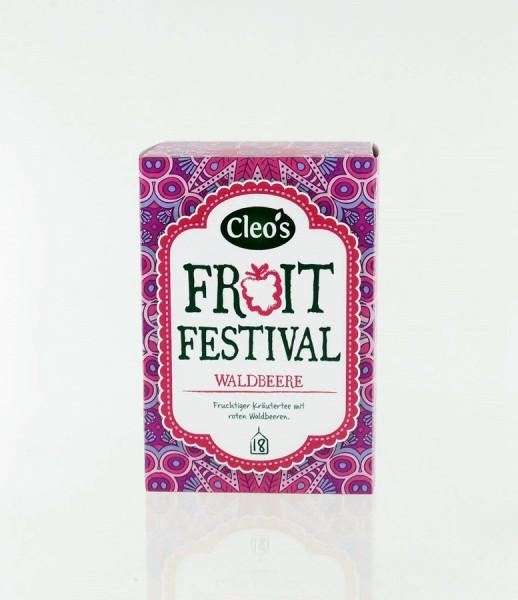 *Bio Fruit Festival (18 x 2g) Cleo's