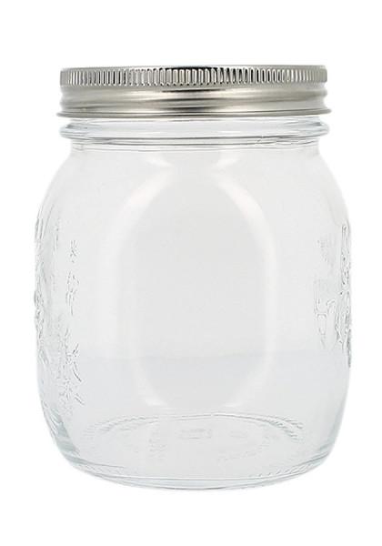Keimglas mit Siebdeckel, 750 ml (430g) Sonnentor