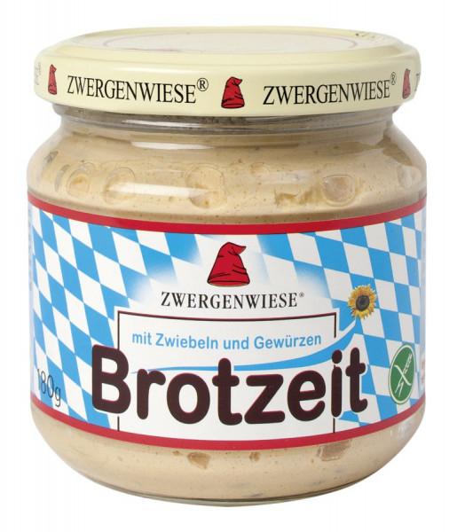 *Bio Brotzeit Streich mit Zwiebeln und Gewürzen nach Obazda-Art (180g) Zwergenwiese