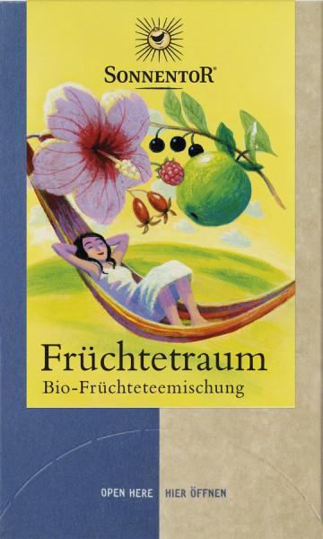 *Bio Früchtetraum Tee, Doppelkammerbeutel (45g) Sonnentor