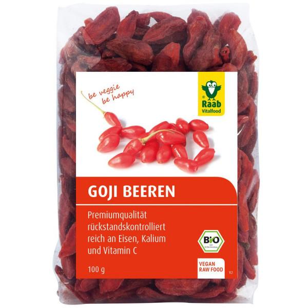 *Bio Bio Goji Beeren (100g) Raab Vitalfood
