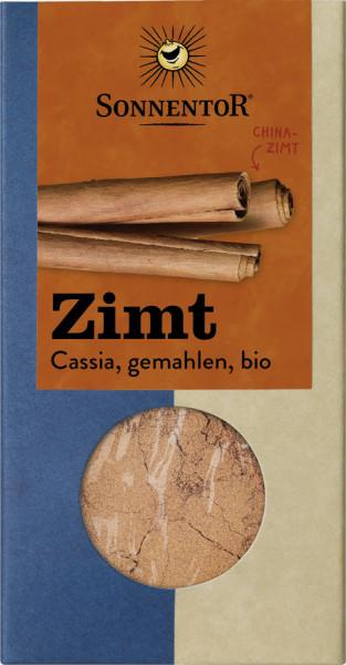 *Bio Zimt Cassia gemahlen, Packung (40g) Sonnentor