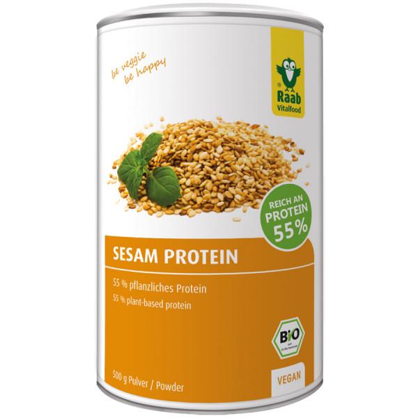 *Bio Bio Sesam Protein Pulver (500g) Raab Vitalfood