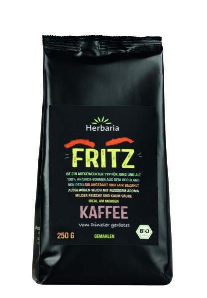 *Bio Fritz Kaffee gemahlen bio (250g) HERBARIA