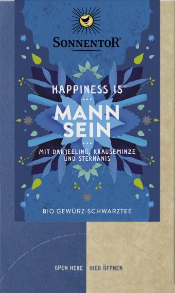 *Bio Mann sein Tee Happiness is®, Doppelkammerbeutel (27g) Sonnentor