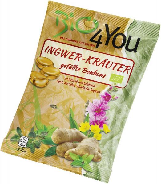 *Bio Bio-Bonbon-Ingwer-Kräuter, gefüllt (75g) Bio4You