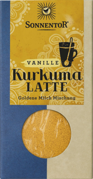 *Bio Kurkuma Latte Vanille, Packung (60g) Sonnentor