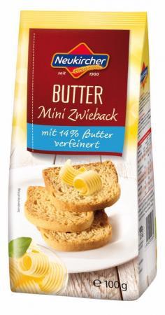 Neukircher Butter Mini Zwieback - 100g