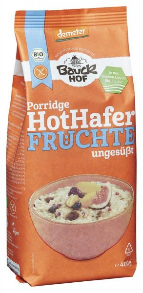 *Bio Hot Hafer Früchte glutenfrei Demeter (400g) Bauckhof