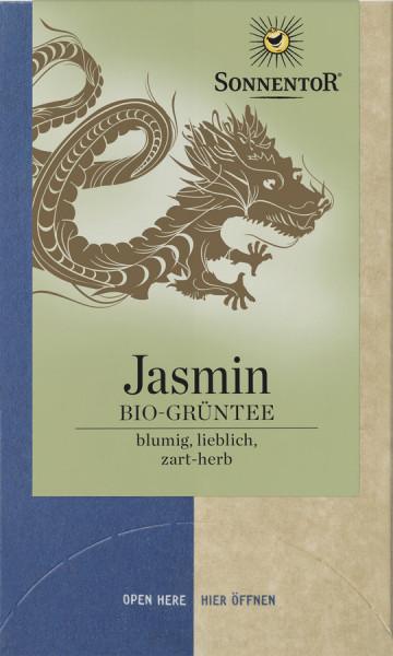 *Bio Jasmin Grüntee, Doppelkammerbeutel (27g) Sonnentor