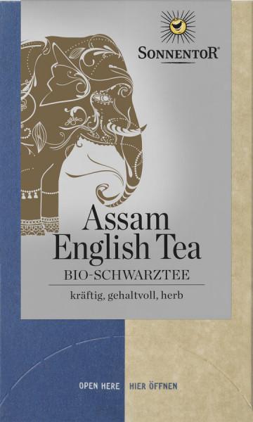 *Bio Assam English Tea Schwarztee, Doppelkammerbeutel (30,6g) Sonnentor