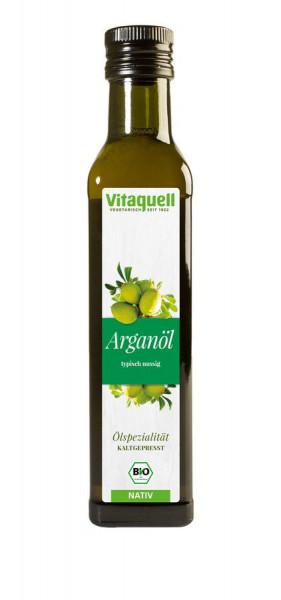 *Bio Argan-Öl Bio nativ, kaltgepresst (0,25l) Vitaquell