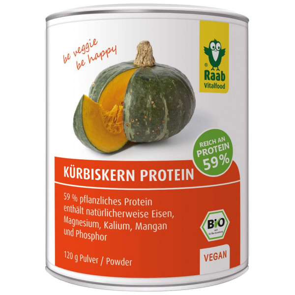 *Bio Bio Kürbiskern Protein Pulver (120g) Raab Vitalfood