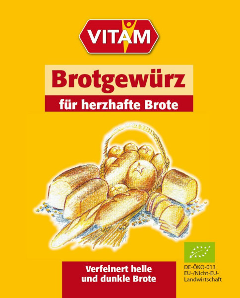 *Bio Brotgewürz (8g) VITAM