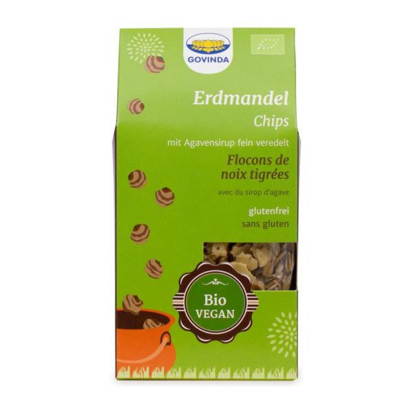 *Bio Erdmandel Chips (100g) Govinda