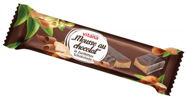 *Bio Bio-Mousse au chocolat-Riegel mit Zartbitter-Schokolade überzogen (40g) Vitana