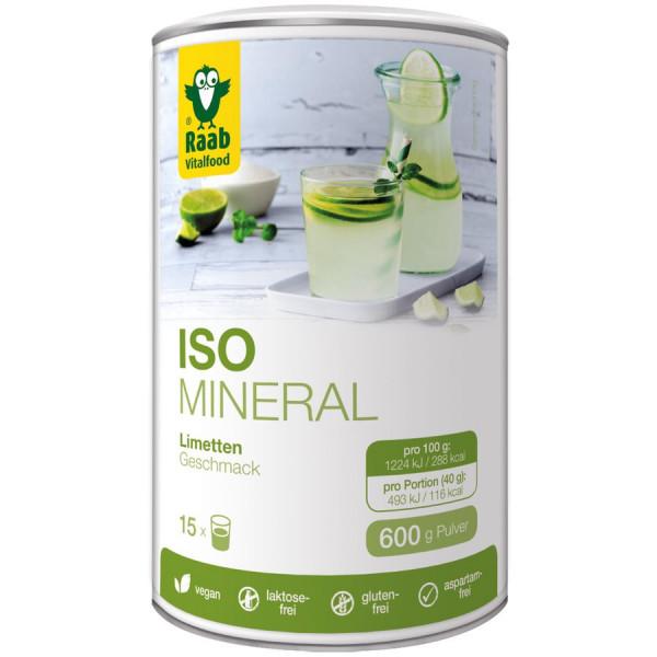 Iso-Mineral Limette (600g) Raab Vitalfood