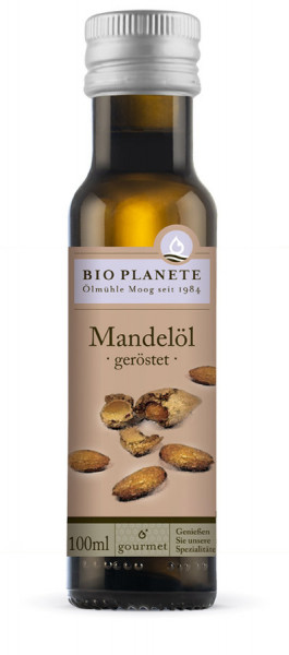 *Bio Mandelöl geröstet (0,1l) BIO PLANÈTE