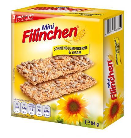 Mini Filinchen Sonnenblumen & Sesam - 84g