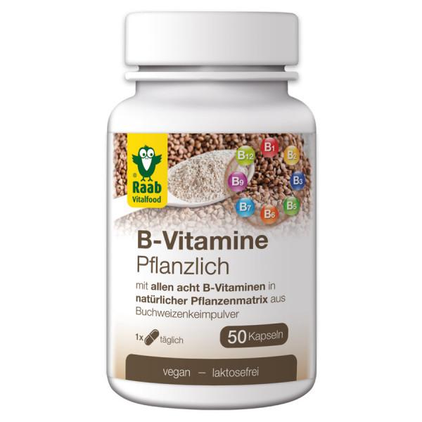 B-Vitamine Kapseln (30g) Raab Vitalfood