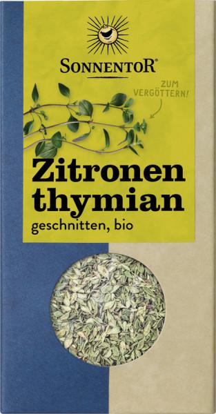 *Bio Zitronenthymian geschnitten, Packung (20g) Sonnentor