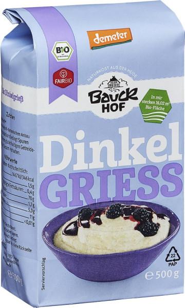 *Bio Dinkelgrieß Demeter (500g) Bauckhof