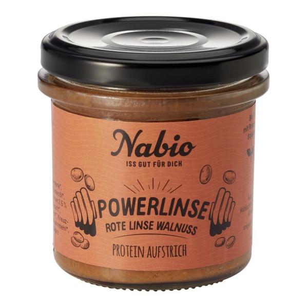 *Bio Protein-Aufstrich Powerlinse Rote Linse Walnuss - 140g