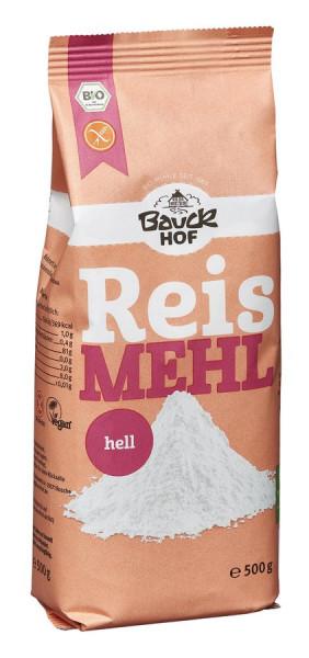 *Bio Reismehl hell glutenfrei Bio (500g) Bauckhof