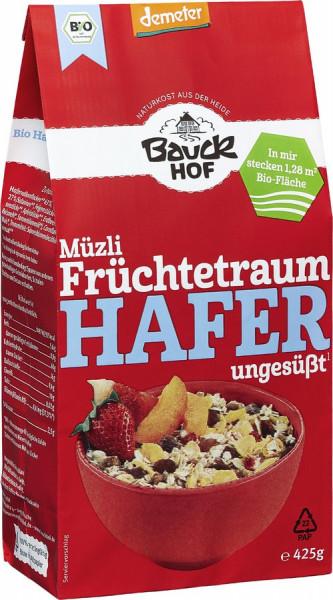 *Bio Hafer Müzli Früchtetraum Demeter (425g) Bauckhof