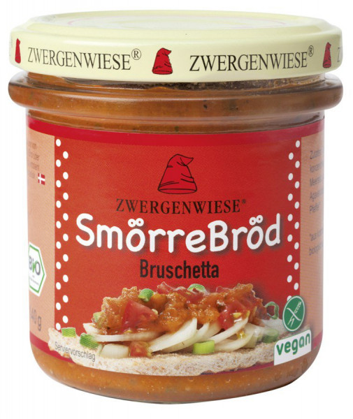*Bio SmörreBröd Bruschetta (140g) Zwergenwiese
