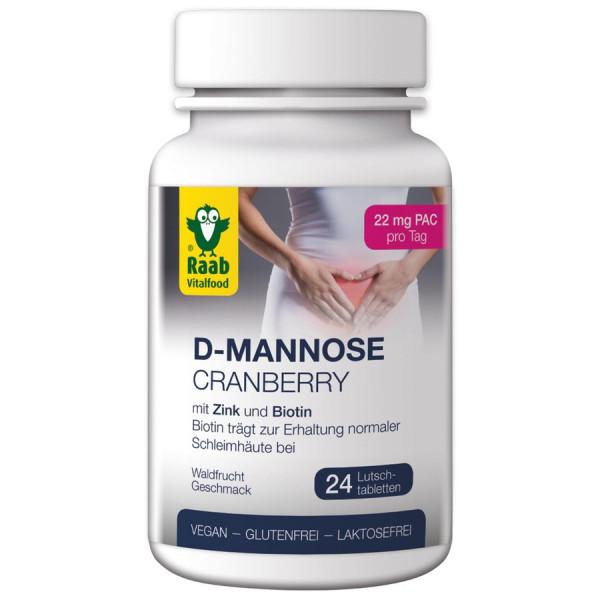 D-Mannose-Cranberry (52,8g) Raab Vitalfood