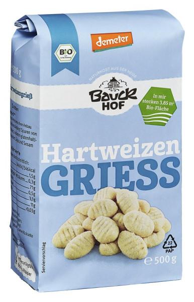*Bio Hartweizengrieß Demeter (500g) Bauckhof