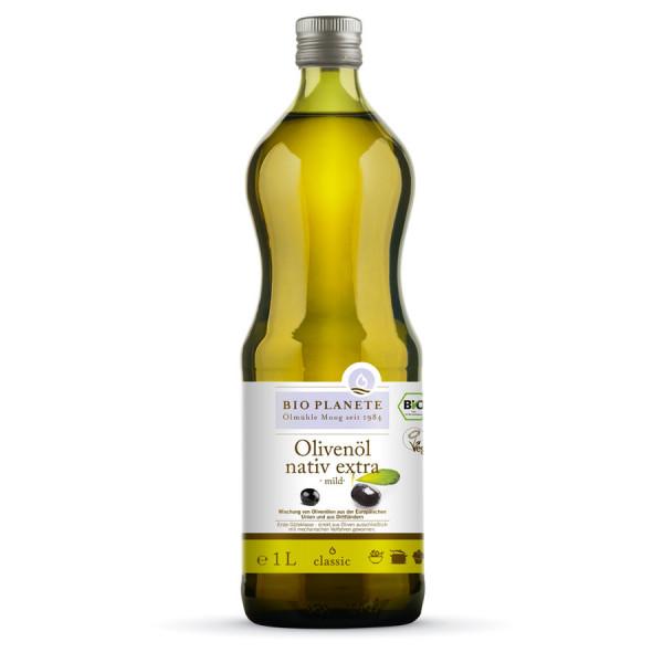 *Bio Olivenöl mild nativ extra (1l) BIO PLANÈTE