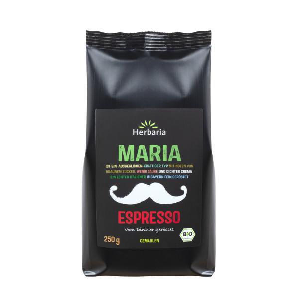 *Bio Maria Espresso gemahlen bio (250g) HERBARIA