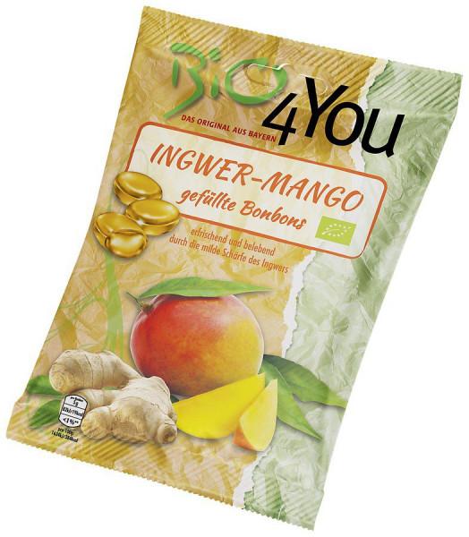 *Bio Bio-Bonbon-Ingwer-Mango, gefüllt (75g) Bio4You