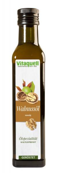 Walnuss-Öl geröstet, kaltgepresst (0,25l) Vitaquell