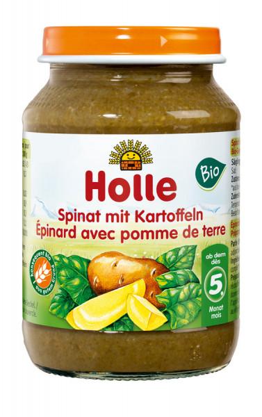 *Bio Spinat mit Kartoffeln (190g) Holle