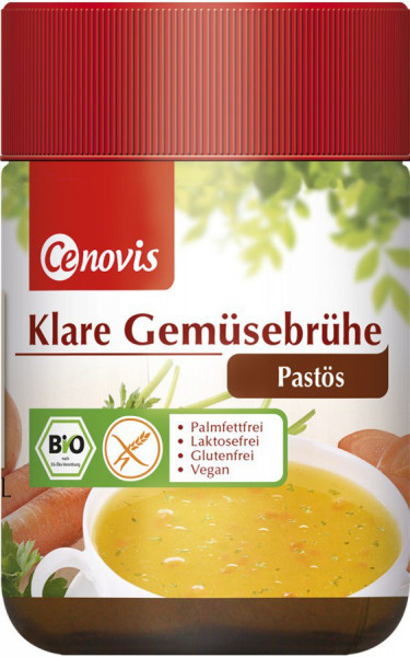 *Bio Klare Gemüsebrühe pastös, bio (231g) Cenovis