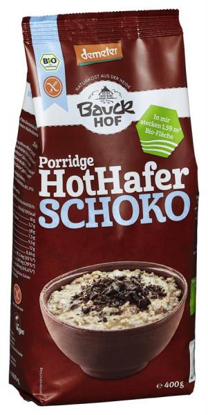 *Bio Hot Hafer Schoko glutenfrei Demeter (400g) Bauckhof