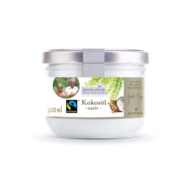 *Bio Kokosöl nativ Fairtrade (400ml) BIO PLANÈTE
