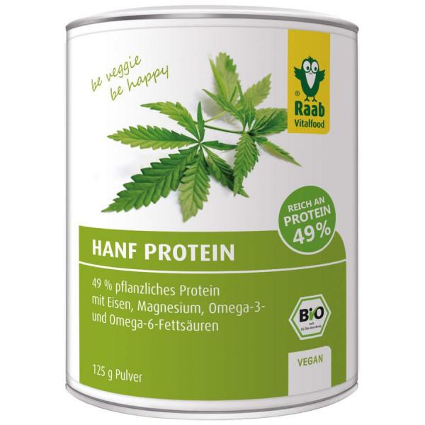 *Bio BIO Hanf Protein Pulver (125g) Raab Vitalfood