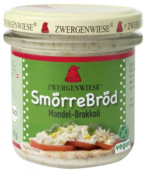 *Bio SmörreBröd Mandel-Brokkoli (140g) Zwergenwiese