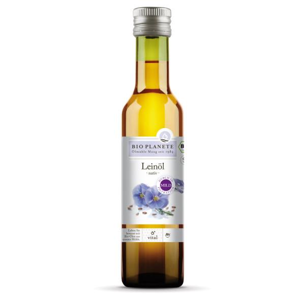 *Bio Leinöl nativ (3D-Filtration) (0,25l) BIO PLANÈTE