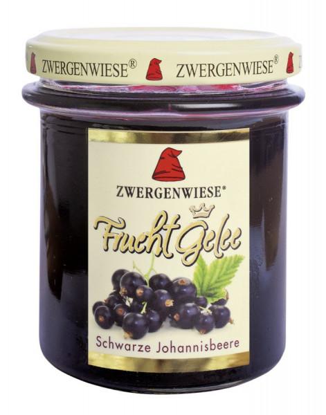 *Bio FruchtGelee Schwarze Johannisbeere (195g) Zwergenwiese