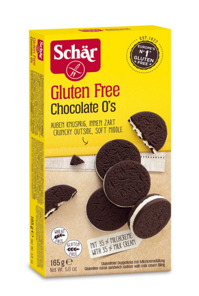 Chocolate O's (165g) Schär