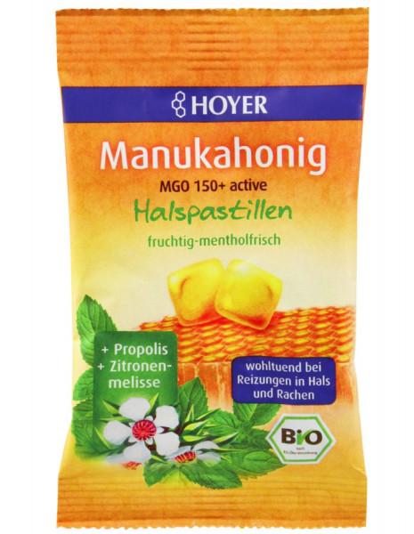 *Bio Manukahonig MGO 150+ Halspastillen (30g) Hoyer